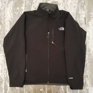 Men's North Face Black Apex Full Zip Jacket